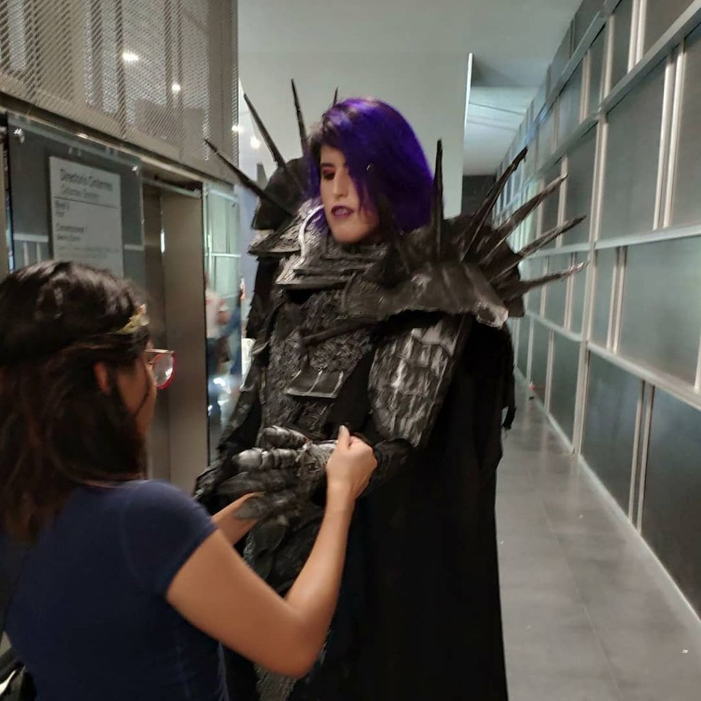 Picture of Cheapest Sauron Cosplay