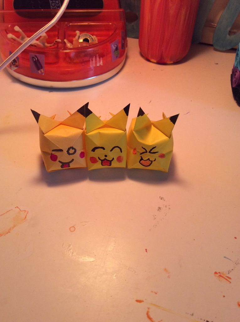 Picture of Origami Pikachu
