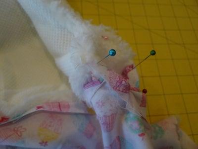 Fold and Sew Opening Around Seam