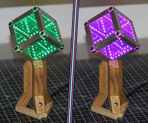 Make an Infinity Mirror Cube