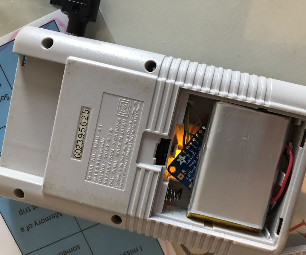 Lipo Battery Mod For Your Gameboy Dmg 6 Steps With