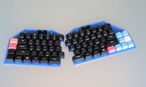 Keycaps and Dampeners