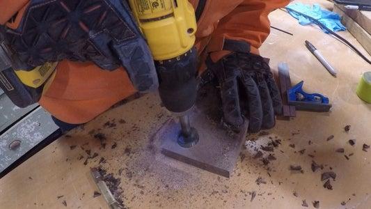 Step 4 - Makin' Magnet Holes