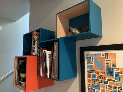 Floating Box Shelf