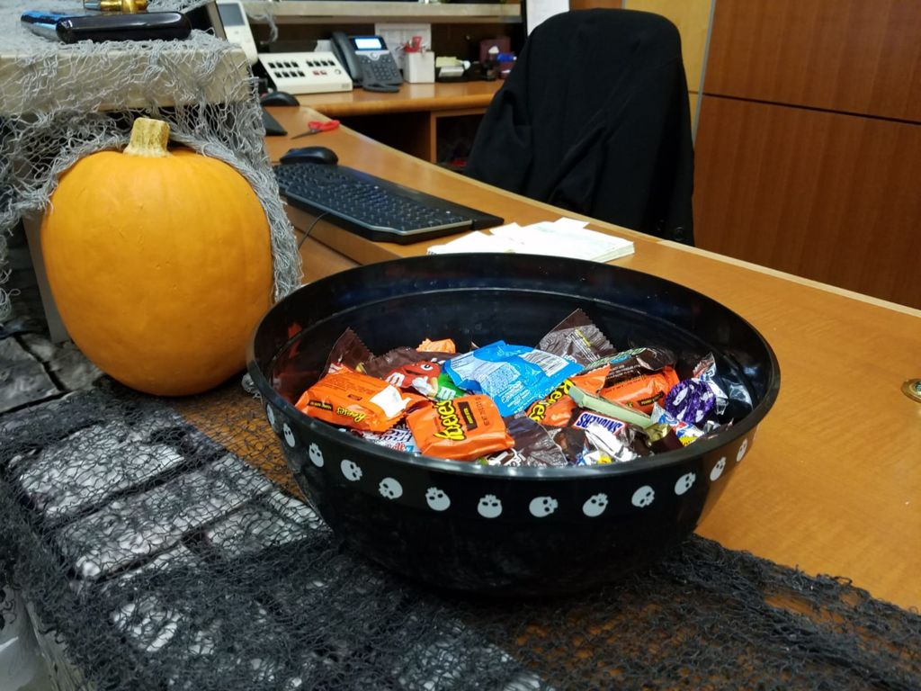 Picture of Don't Forget the Candy Bowl!