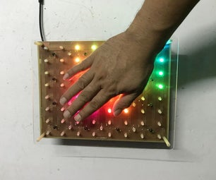 PCB FOR INTERACTIVE MODULE 8x8
