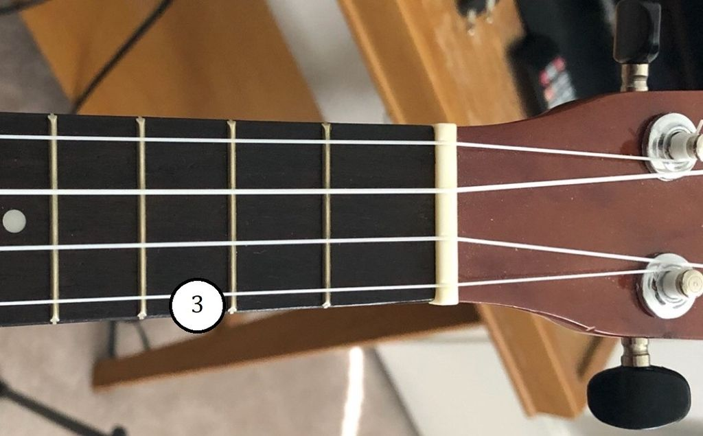 Picture of Play C Chord