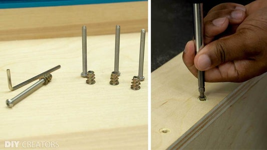 Add the Thread Insert to the Miter Station