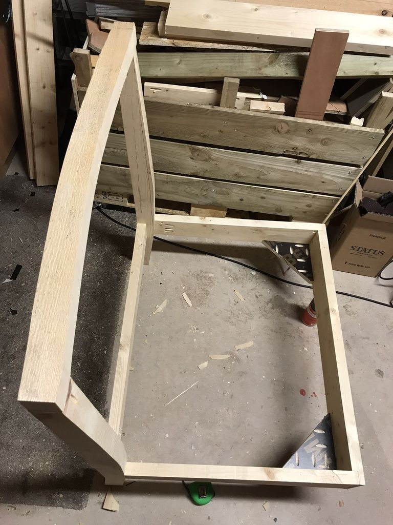 Picture of Curved Back Rail
