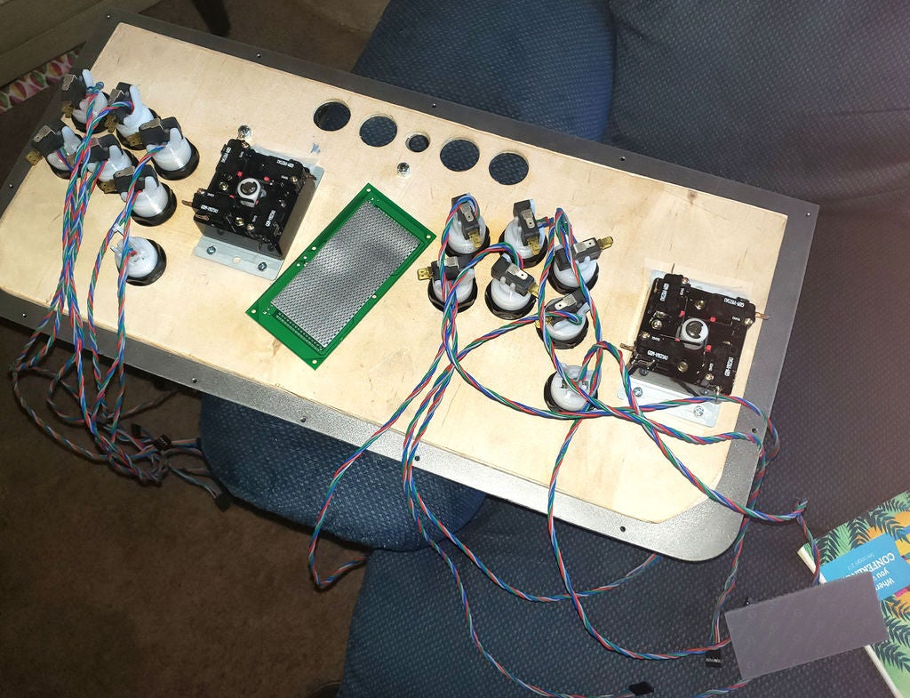 Picture of Wiring the Control Panel