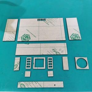 Assembly Acrylic Parts