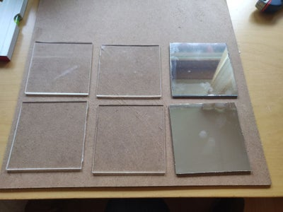 Cutting Acrylic Squares (If You Did Not Have Them Cut)