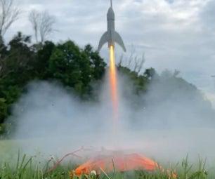 3D打印机火箭