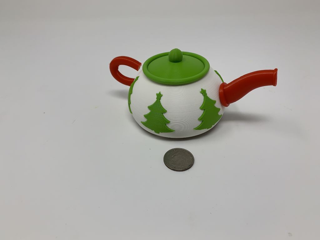 Picture of Robotic Christmas Teapot