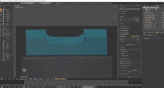Blender Background.