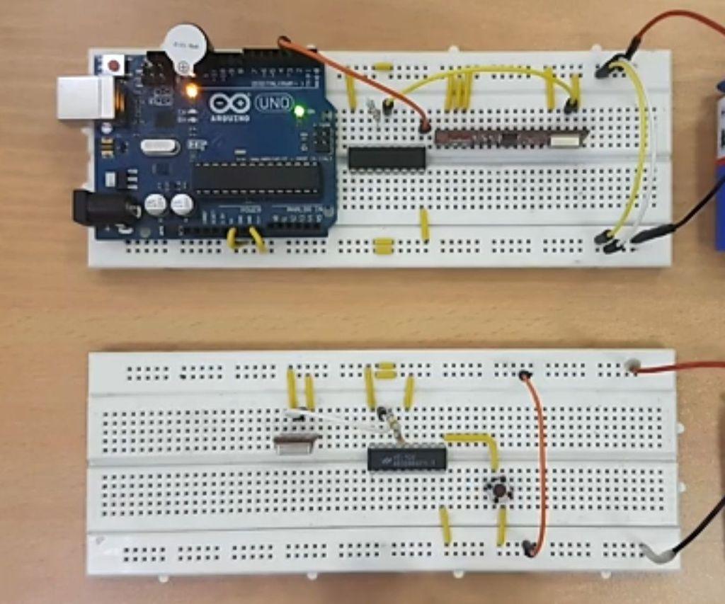 Wireless Doorbell Using Arduino and RF Module
