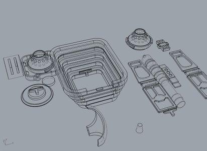 Designing & Printing Greeblies