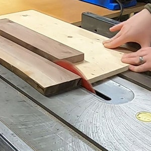 Making the Sides Part 2 - Cutting to Height