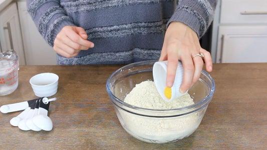 Add Egg Yolk, Vanilla and Water