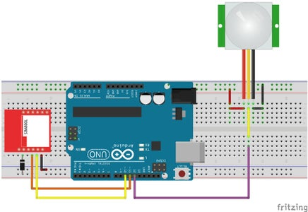 The Project Electronic Circuit and the Programming