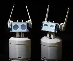 EWON树莓派技术的家庭机器人