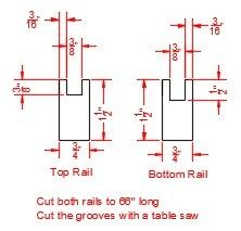 Picture of Fabricate the Grooved Rails