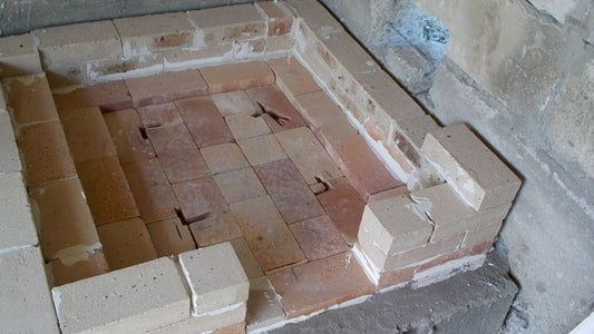 First Bricks.