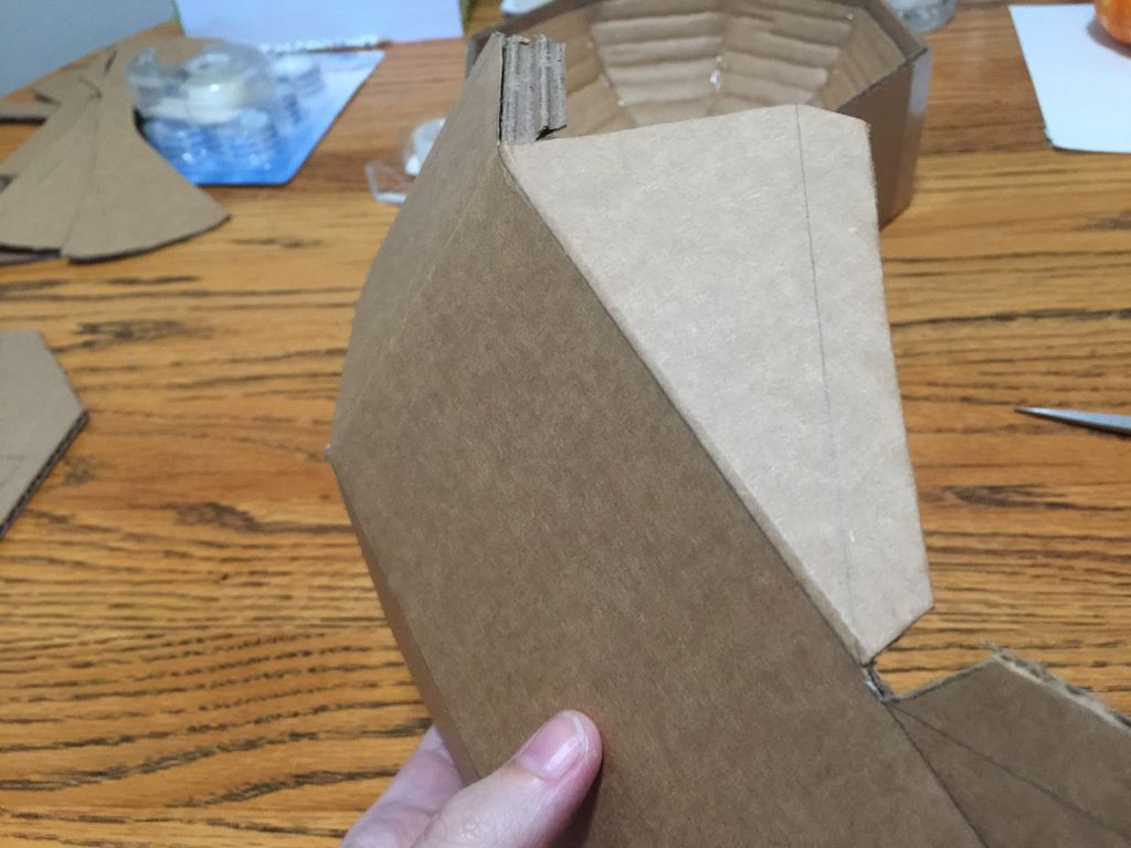 Picture of Score, Fold, and Glue Phone Platform to Top