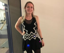 Neopixel Motion Dress