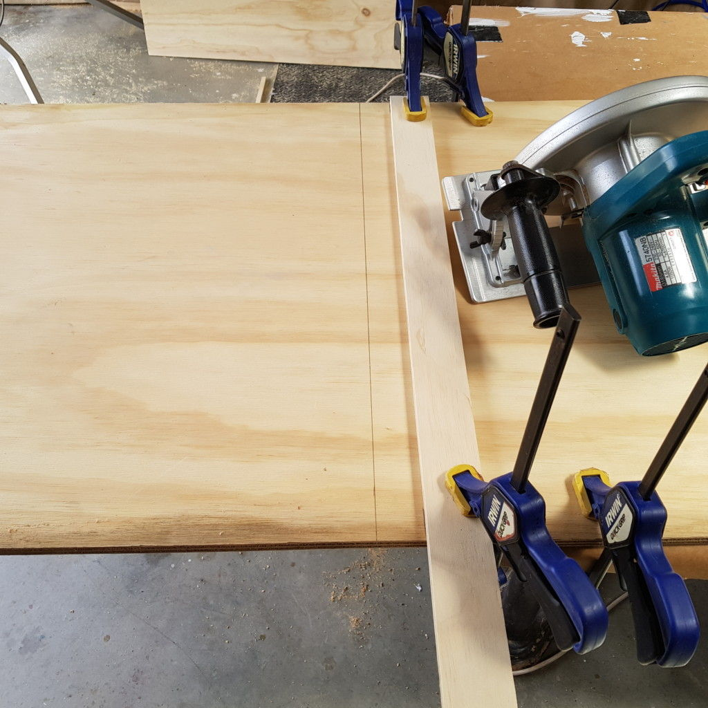 Picture of Making the Shelves