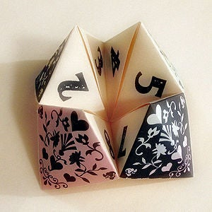 Picture of Basics: Creating an Origami Fortune Teller for Kids
