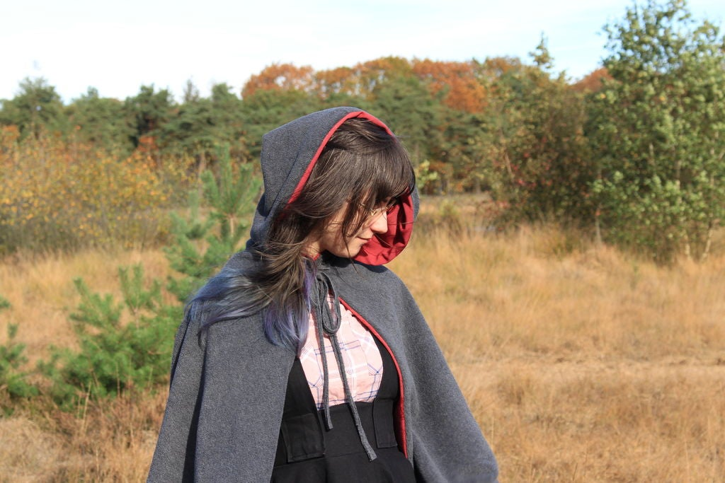 Picture of Little Red Riding Hood Invertible Wolf Cloak