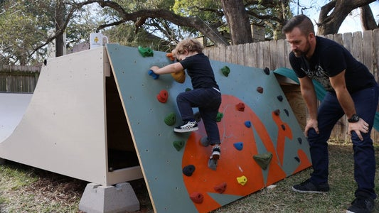 Extras! the Climbing Wall and Slide!