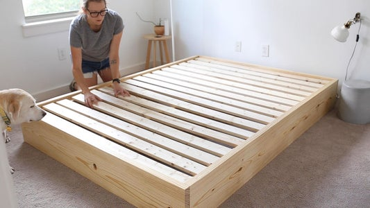 Add the Bed Slats