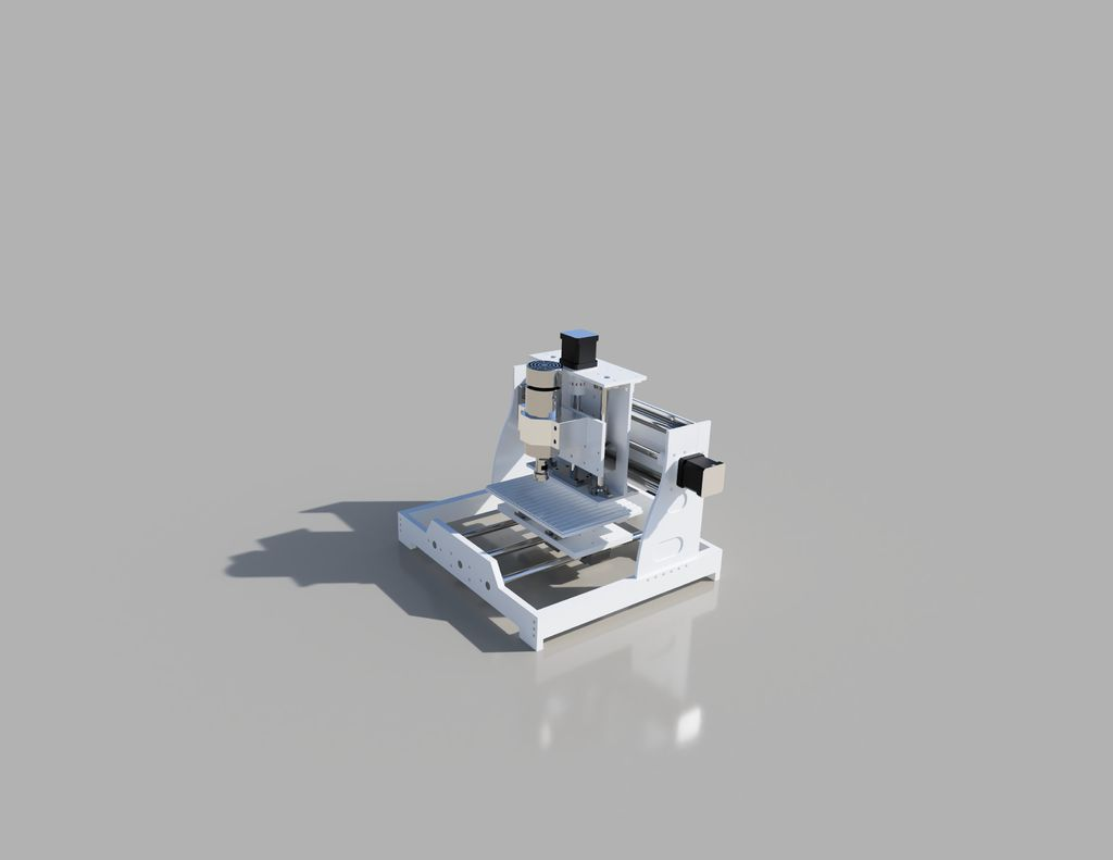 Picture of Three Axis CNC Machine Instructions