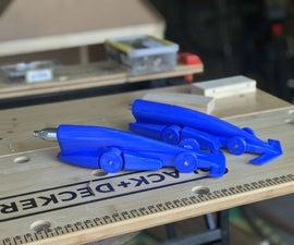 3D Printed CO2 Car