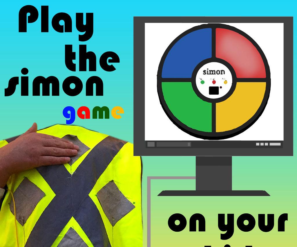 Play the Simon Game on Your Shirt
