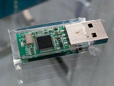 Remove the USB Key From the Mold