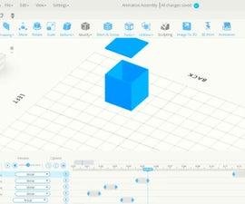 SelfCAD Box Assembly Animation