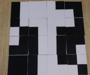 Panda Squares & Truchet Tiles