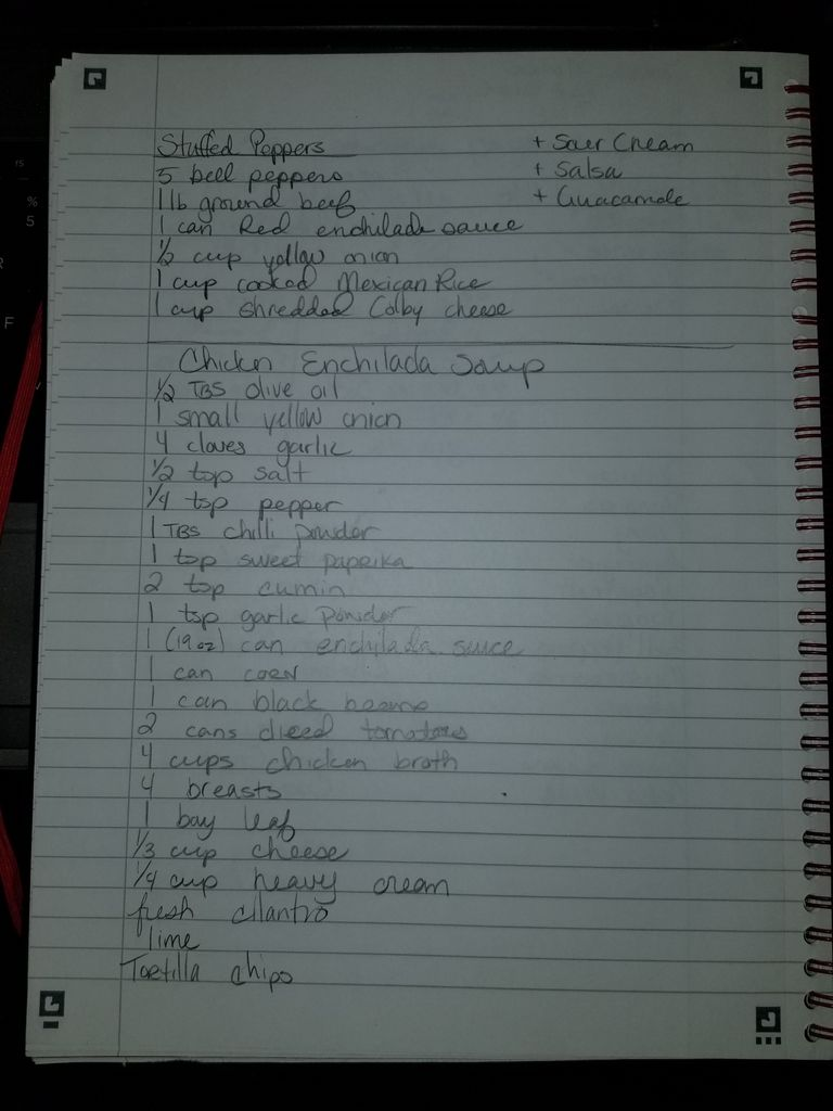 Picture of Find Your Recipe and Make Your List
