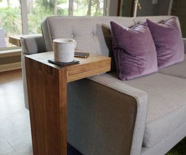 How to Make a Sofa C-Table