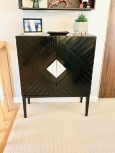 Anthropologie-Inspired Cabinet From a Worn Out Display Shelf