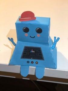 Miss Blue Robot