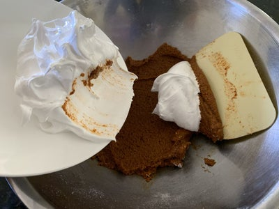 Add the Meringue to the 'pastes'