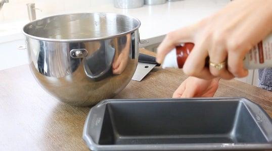 Prepare Loaf Pan