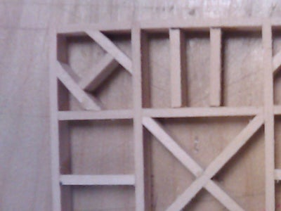 Step 3: Kumiko Panel
