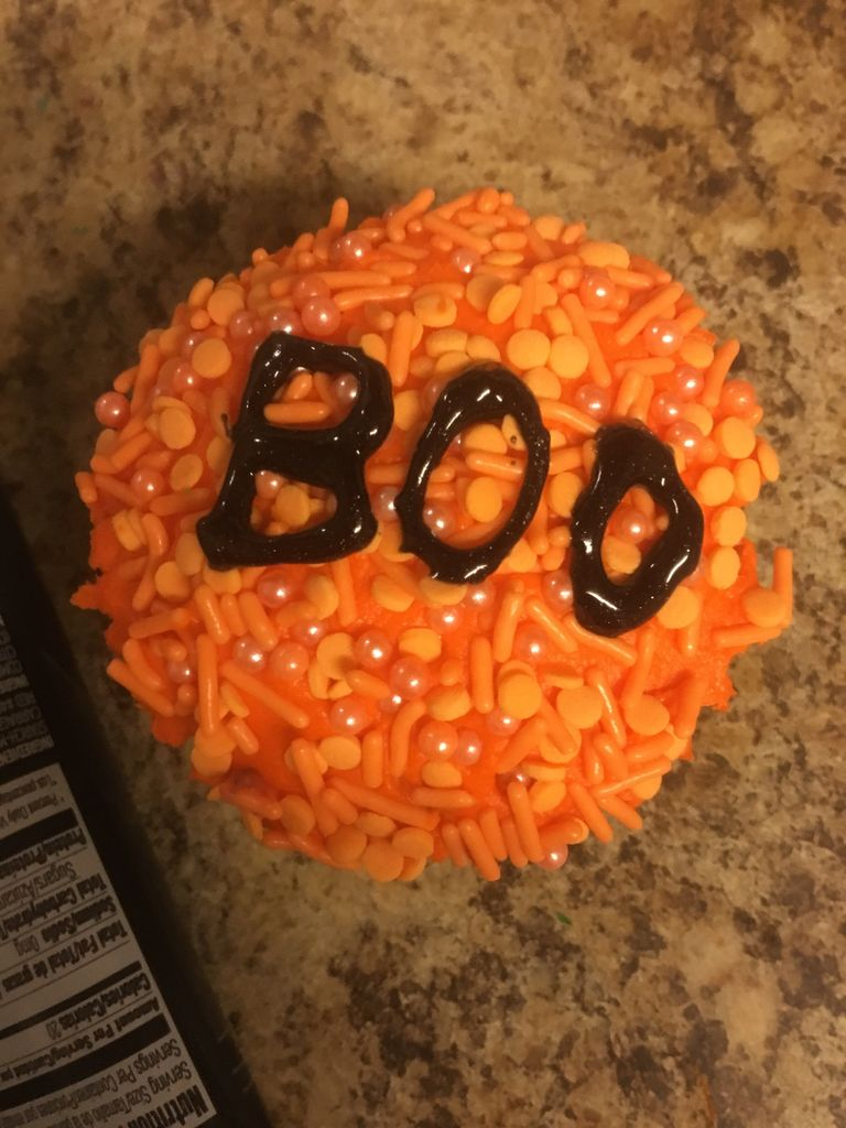 Picture of Design One - Boo Cupcake