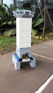 Microscope With LEGO Bricks