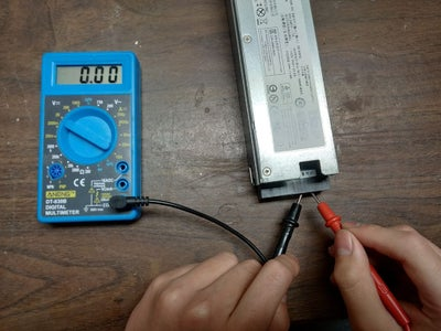 Test Out Power Supply Pins